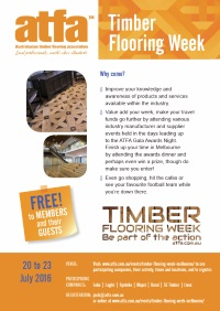 2016 ATFA Timber Flooring Week Invite