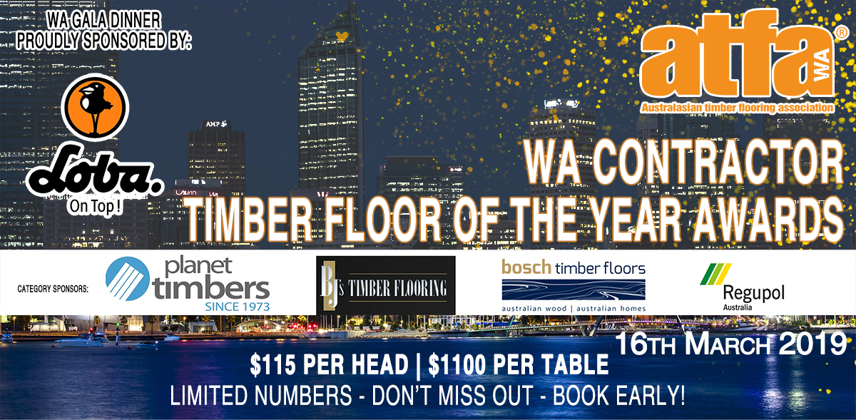 ATFA Timber Floor of the year and Awards for Excellence entry and nomination form
